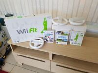Nintendo Wii Console /games/ and Wii fit board