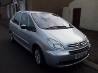 2007 citroen xsara 1.6 picasso. desire. 16v 5 door mpv.anti-lock brakes.petrol.manual.