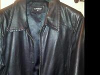 TOPSHOP LEATHER BOMBER 14