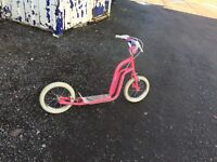 Girl's Pink Scooter - £10