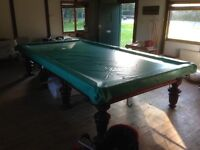 Full Size Snooker Table plus accessories