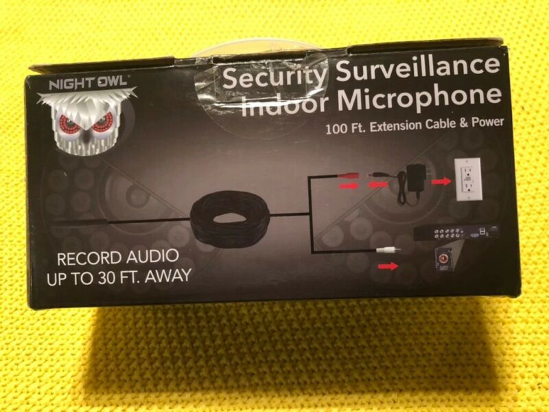Night Owl Security Security Surveillance Indoor Microphone