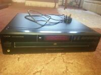 DENON DCM280 5 Disc Cd Player (not working for parts only)