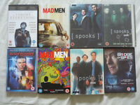 Job Lot DVDs inc Blade Runner Final Cut, Spooks 2,3,4, Mad Men Final Season 1,2,