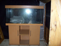4ft Fish Tank & Cabinet For Sale £50 o.n.o