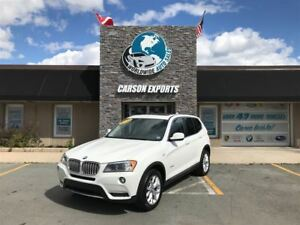2013 BMW X3 CLEAN 28i! PANO ROOF! $179.00 BI-WEEKLY+TAX!