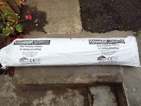 Visqueen 250mu 1000 gauge black damp proof membrane. 25m x 4m. Full packaged roll.