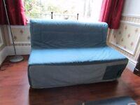 "Ikea ""Lycksele"" range sofa bed."