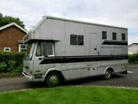 7.5 Tonne Horsebox For Sale