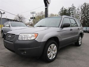 2008 Subaru Forester 2.5X AWD DRIVE TRAIN - ALL WHEEL~MANUAL !!!