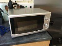 Sainsburys Silver 17l Microwave