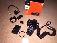Sony Alpha 230 DT 18-55mm with box and accessories