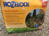 Hozelock Wall Mounted Fast Reel With 40M Hose And Connectors
