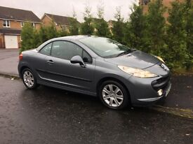 2008 PEUGEOT 207 CC Sport Convertible - Only 41,500 Miles Guaranteed - FSH -
