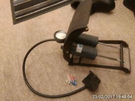 RING FOOT PUMP - VGC - NO OFFERS