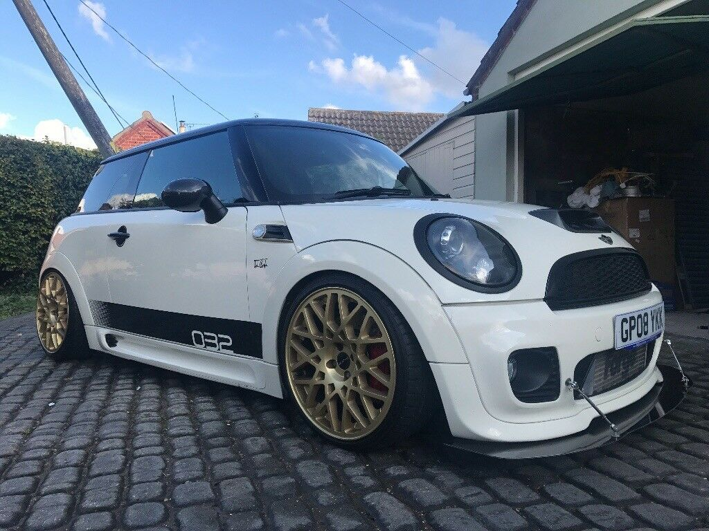 mini john cooper works r56 modified only 5000 in. Black Bedroom Furniture Sets. Home Design Ideas