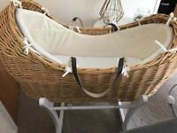 Mother Moses basket
