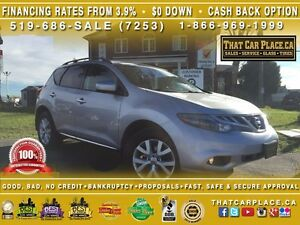 2011 Nissan Murano S-$73/Wk-RearCam-AWD-Tint-HtdSts-Lthr-DualSun