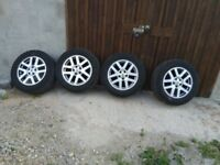 alloy wheels with general grabber AT2 tyres 255/55/18 for Range Rover Sport