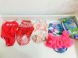 6-9 Month Girls Swimming Bundle