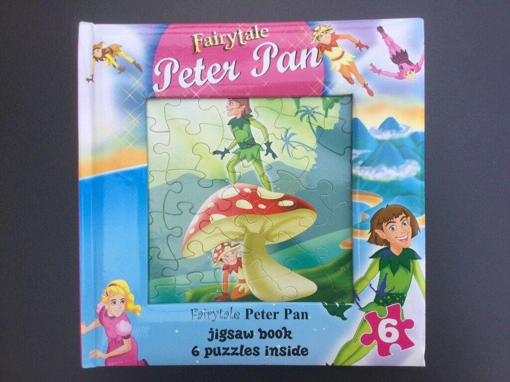 Peter Pan Jigsaw Puzzle Book, brandnew
