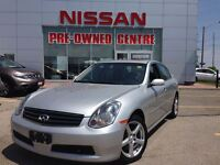 2006 Infiniti G35 RWD, EXCELLENT CONDITION, LEATHER, ROOF, POWER