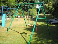 Early learing swing set