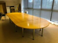 office large meeting table boardroom