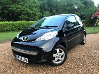 Peugeot 107 1.0 Insurance Group 4/50 Low Miles 43k Long MOT New Brakes & Service Air Conditioning