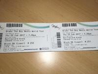Drake The Boy Meets World Tour tickets x2
