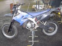 Yamaha dt 50 r sm very rare not dt 125 project spares or repairs