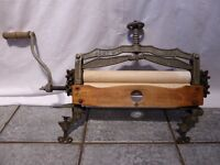 """Antique 16"""" Mangle or Wringer from the Acme Manufacturing Company of Glasgow"""