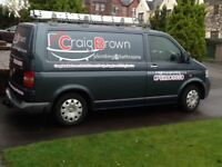 QUALIFIED PLUMBER AND BATHROOM FITTER, DESIGN SUPPLY AND FITTING