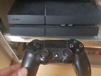 PS 4 500 gb black+ controller