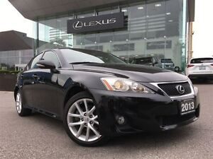 2013 Lexus IS 250 AWD NAVI LEATHER SUNROOF