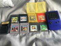 Pokemon games and gameboy colour