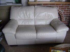 Settee, hardly used, surplus to house move.