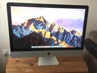 Apple iMac 27inch, i7 2.8 Ghz, 20GB Ram, 126GB SSD + 1TB HDD
