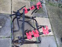Bicycle Carrier for 3 bikes - Never Used