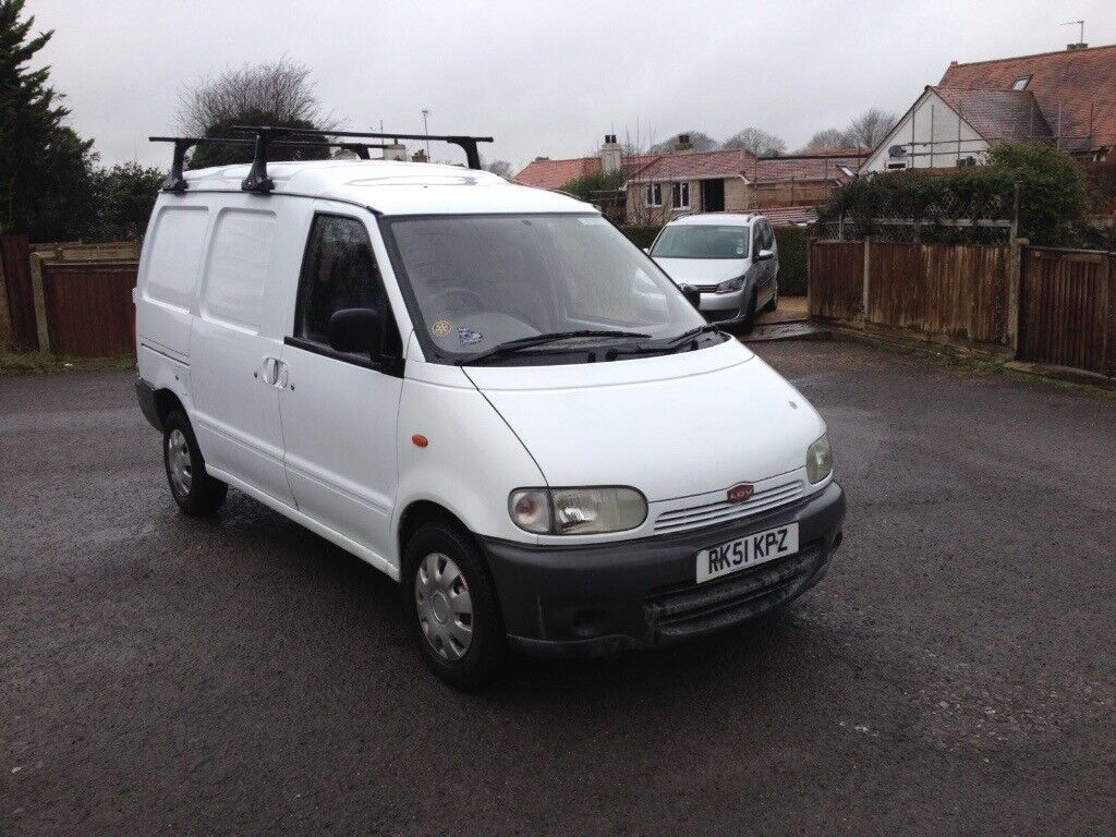 Ldv Cub Same As Nissan Vanette 51 Reg Unsign Written White New Mot Twin Side Loading Doors Clean