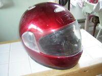 motor cycle helmet. British standard. Sold bike so no longer needed.