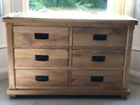 Solid Mango wood Chest of Drawers