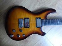Rare Dean Hardtail Select Vibrato - PRS Custom style meets Gibson Les Paul