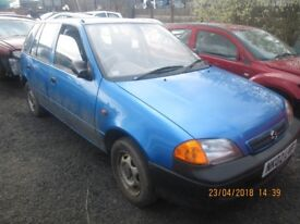 Suzuki Swift GL 1L Petrol 2002 Parts Only Indicator Bulb