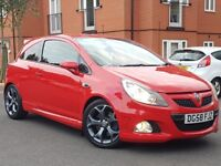 58 REG VAUXHALL CORSA VXR 1.6 TURBO F/S/H LOW MILES 66K P-X WELCOME