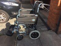 Days Escape lite. Aluminium Manual Wheelchair