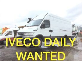 WANTED IVECO DAILY ANY CONDITION