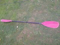 194cm TNP Rapa Fibreglass Kayak Paddle - Less than 1kg