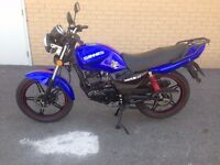 2016 SINNIS MAX 2 125 LEARNER LEGAL MOTORBIKE 125CC IMMACULATE HPI CLEAR 7 MONTHS OLD