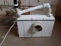 toilet macerator (not saniflow)